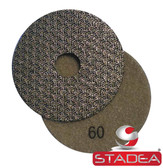 "Stadea 4"" Electroplated Diamond Polishing Pads Diamond Grit Sandpaper for Concrete Marble Granite Polishing"