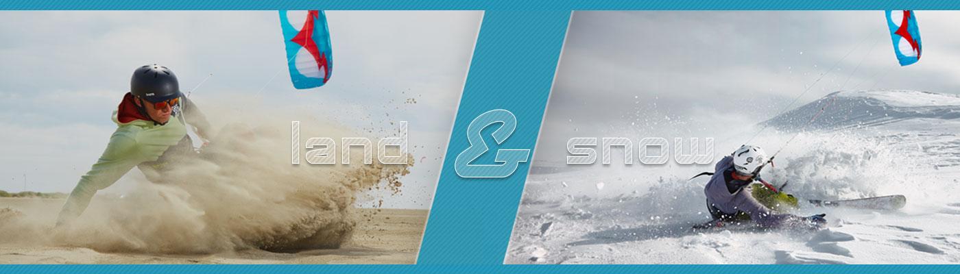 Kitemare Landboarding & Snowkiting