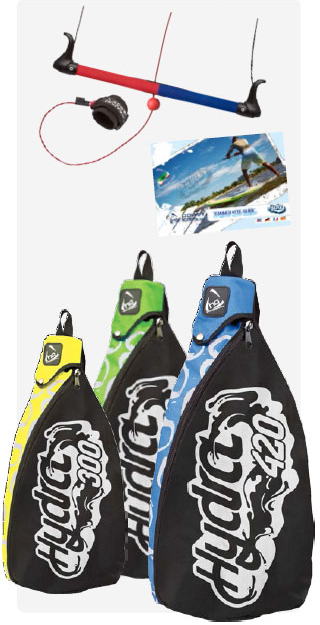 Hydra II the best trainer kite for learning kiteboarding