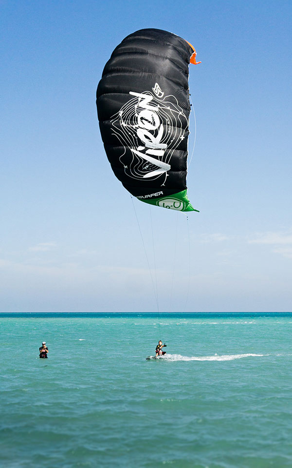 Flysurfer Viron Beginner Kite for Kiteboarding