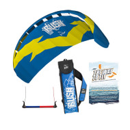 HQ Rush V 200 - 2 Line Trainer kite. Great for kids with very little power