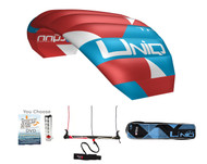 Peter Lynn Uniq Tr is a game changing 3-line single skin kite