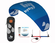 HQ Hydra II 420 Kiteboarding Trainer Kite | Water Relaunchable  | Free DVD or Wind Meter
