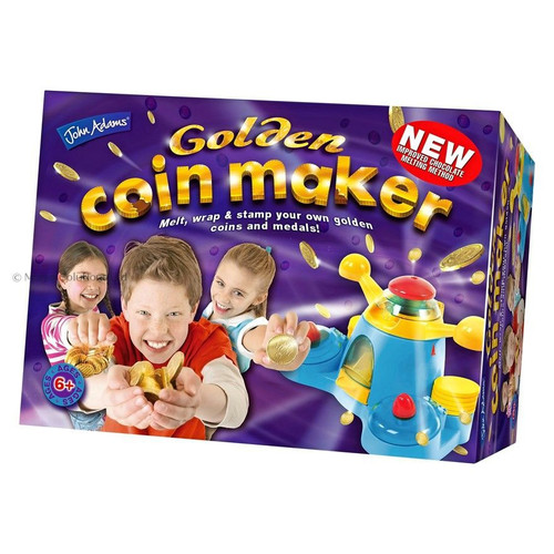 Chocolate Golden Coin Maker Melt Wrap Stamp Coins Medals melter inc 6+