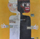 """Acrylic, Oil Stick, Charcoal Pencil and Collage on Canvas.  Gallery Wrapped.  36 x 36"""""""