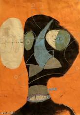 "Beauty Is Skin Deep - Mixed Media on Canvas Panel, 14 x 19 1/4"""