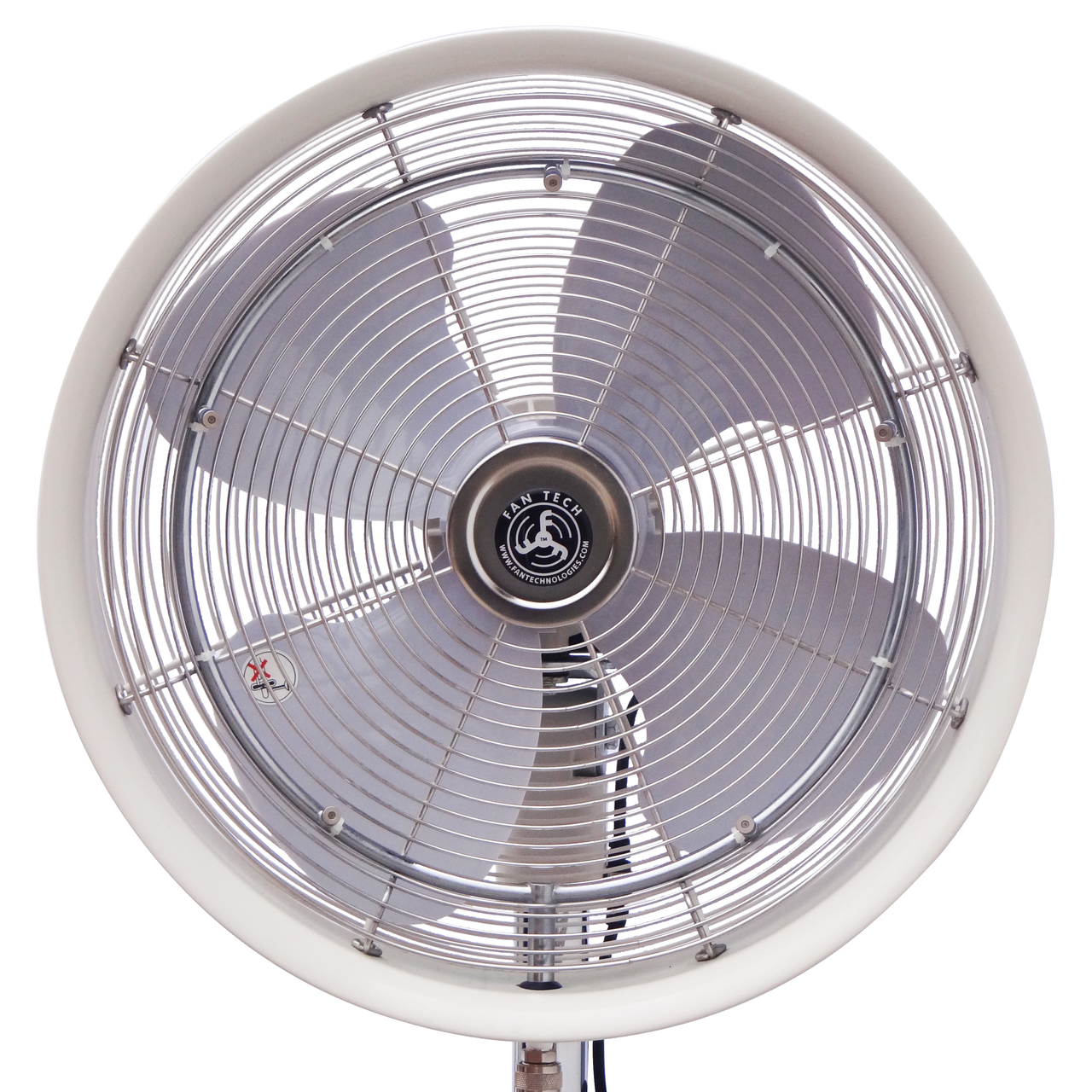 front view of fan