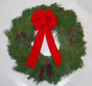 White Pine Christmas Wreath