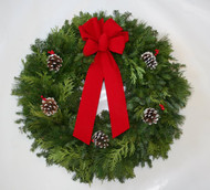 Mixed Christmas Wreath