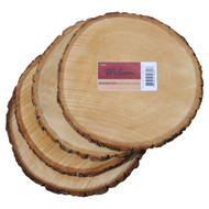 Basswood Round (4 pack) unsanded