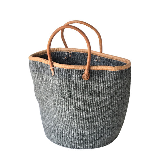 Kiondo Basket - Grey | Large - Shopper, Storage, Decor