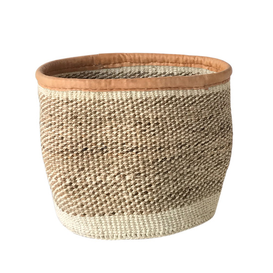 Kiondo Basket - Natural & Banana Stem | Small