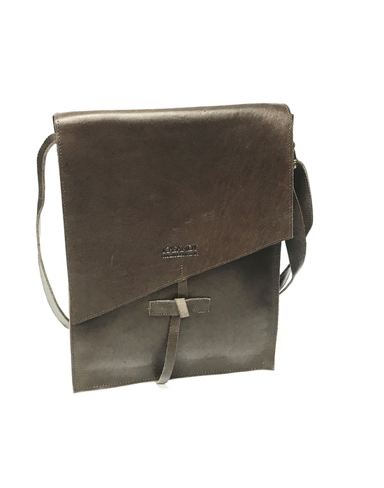 Genuine Leather Satchel/Messenger Bag | Brown | Unisex