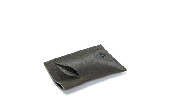 Genuine Leather Handmade Card Holder | Men's Wallet - Textured Brown