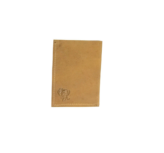 Genuine Leather Handmade Card Holder | Men's Wallet - Tan