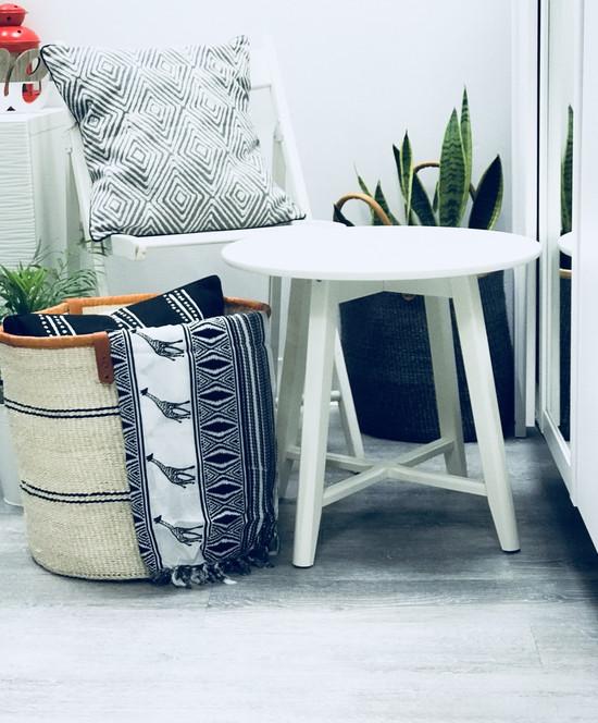 Throw/Sofa Pillows | Grey | Geometric Design