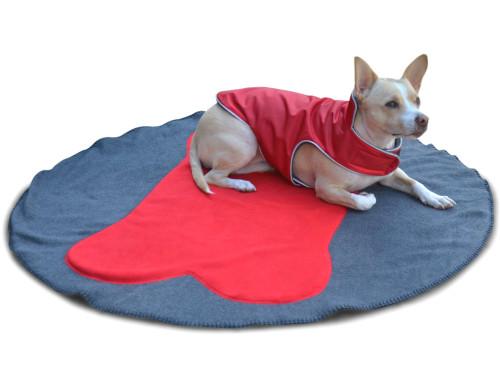 Highest Quality Fleece Dog Blanket