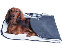 Luxurious Fleece Dog Bed
