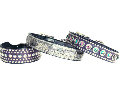 Milano Jewels + Studs Dog Collars