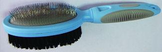 Sure Grip - Oval Slicker Bristle Brush Combo
