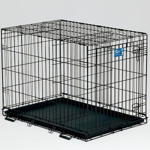 Midwest - Life Stages Single Door Crates, Training and Travel Series, Folds down so it is easy to carry, Available in 4 Sizes