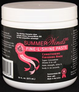 Summerwinds - Fine-L-Shine - Cream Rinse PASTE