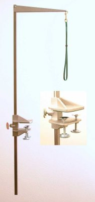 """Tableworks - Large (48"""") Folding Grooming Arm, Complete with Clamp and Noose"""