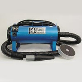 K-9 II Dog Blower-Dryer, 110 VOLT, 2 Speeds, 2 Temperatures, Select from 12 Colors