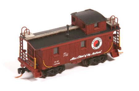 N-scale 1200 Series Wood Cupola Caboose