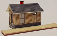 HO - Scale 1902 NP Telegraph Office