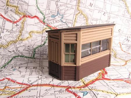 HO-Scale NP Scale House
