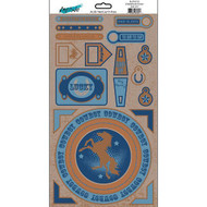 East Meets West Collection Buckaroo Sticker Sheet by Moxxie