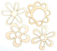 Wood Flourishes Collection Mixed Flowers Wood Flourishes by Kaisercraft