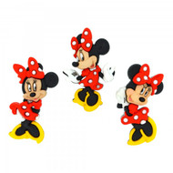 Disney Dress It Up Collection Minnie Mouse Scrapbook Button Embellishments by Jesse James Buttons