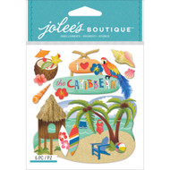 Caribbean Scrapbook Embellishment by Jolee's Boutique