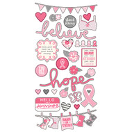 Hope Collection 6 x 12 Cardstock Sticker Sheet by Simple Stories