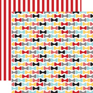 Magical Adventure Collection Fancy Bows 12 x 12 Double-Sided Scrapbook Paper by Echo Park Paper