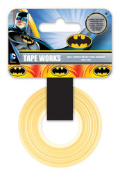 Marvel Comics Collection Batman Self-Adhesive Tapeworks Decorative Tape by Sandylion - 50 Feet