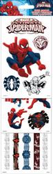 Marvel Comics Spiderman 4 x 12 Scrapbook Sticker Multi Pack by Sandylion