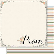 Perfect Prom Collection Prom 12 x 12 Double-Sided Scrapbook Paper by Scrapbook Customs