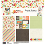 Happy Harvest Collection 12 x 12 Simple Set by Simple Stories