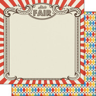 Fair Collection State Fair 12 x 12 Double-Sided Scrapbook Paper by Scrapbook Customs