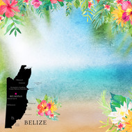 Getaway Collection Belize 12 x 12 Double-Sided Scrapbook Paper by Scrapbook Custom