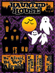 Signature Series Collection  Haunted House 5 x 6 Scrapbook Embellishment by Reminisce