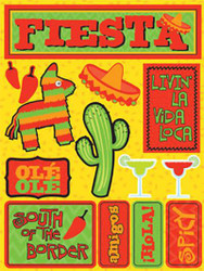 Signature Series Collection Fiesta 5 x 6 Scrapbook Embellishment by Reminisce