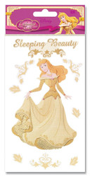 Disney Enchanted Tales Collection Gold Sleeping Beauty Scrapbook Embellishment by EK Success