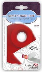 Crafty Power Super High Tack Tape with dispenser by Scrapbook Adhesives - 20'