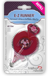 E-Z Runner Permanent Double-Sided Strips Refill by Scrapbook Adhesives - 49'