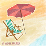 St. Georges, Bermuda 12 x 12 Vacation Scrapbook Paper by Scrapbook Customs