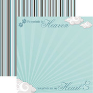 Signature Series Collection Pet Loss Double-Sided 12 x 12 Scrapbook Paper by Reminisce